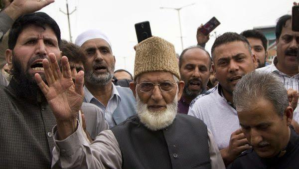 Syed Ali Shah Geelani Kashmir Pakistan