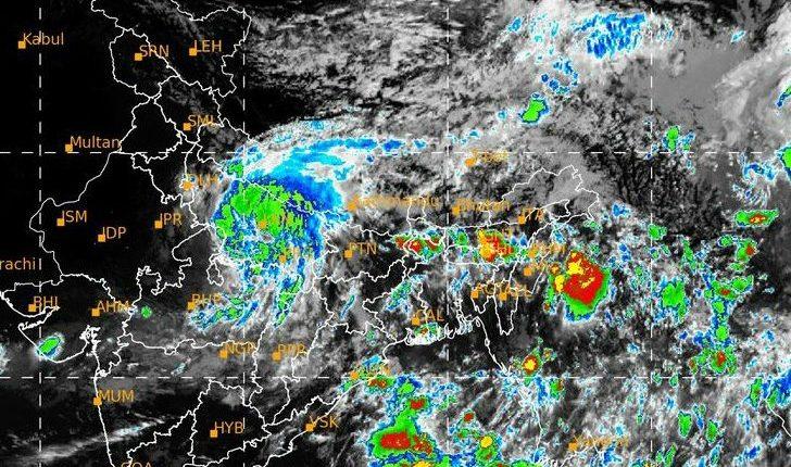 Cyclonic Storm Bhubaneswar Odisha Bay of Bengal