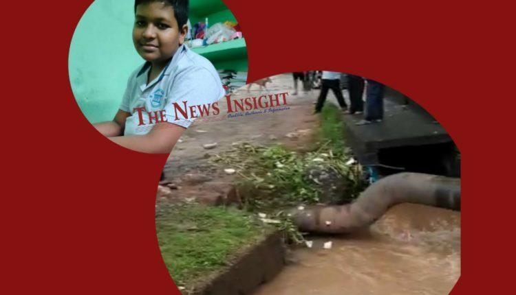 Student Bhubaneswar Open Drain Siripur