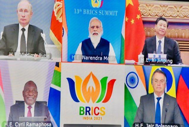 Prime Minister Narendra Modi chairs the 13th BRICS Summit