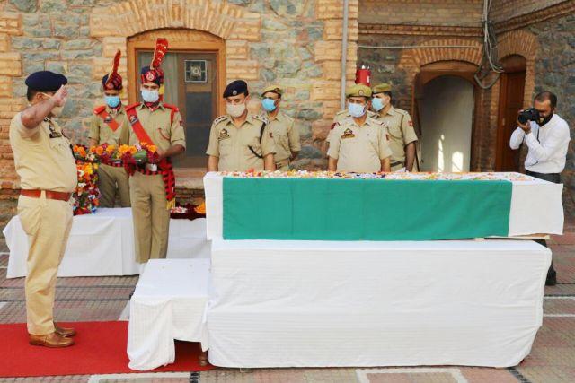 newly recruited SIArshid Ahmad Mir died in a terror attack in Srinagar
