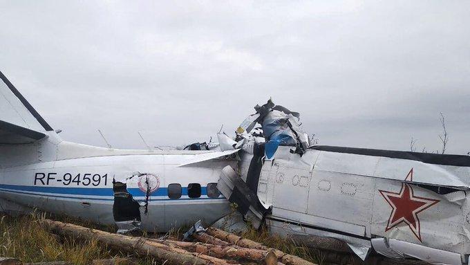 16 Killed in Russia Plane Crash