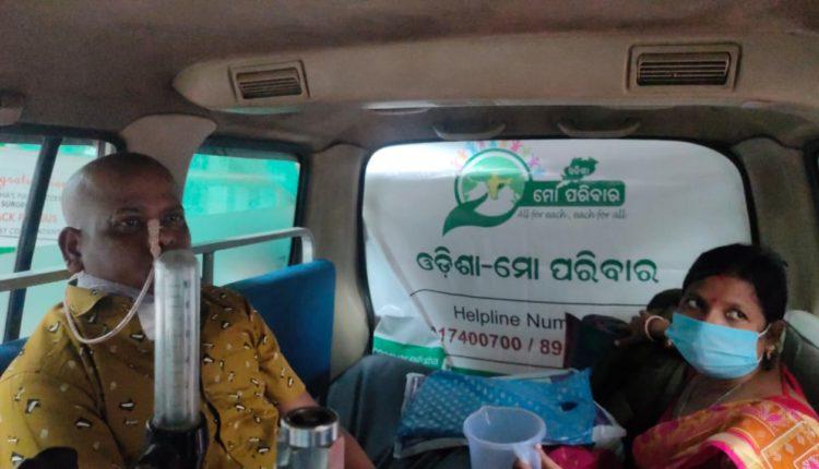 Cancer Patient Odisha-Mo Parivar