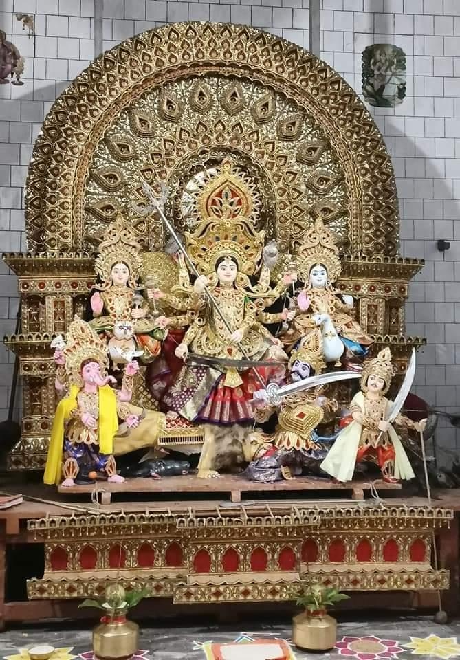 Cuttack Sikharpur Mahanadi Vihar Road Puja Committee