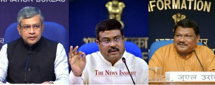 Dharmendra, Ashwini, Jual in BJP National Executive Council