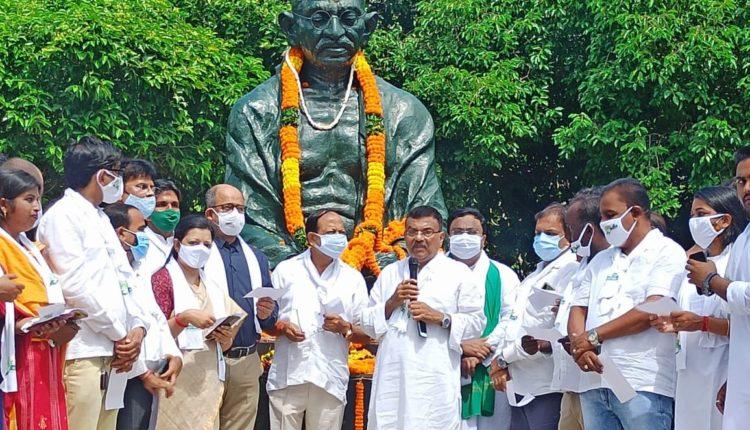 Gandhi Jayanti Odisha-Mo Parivar