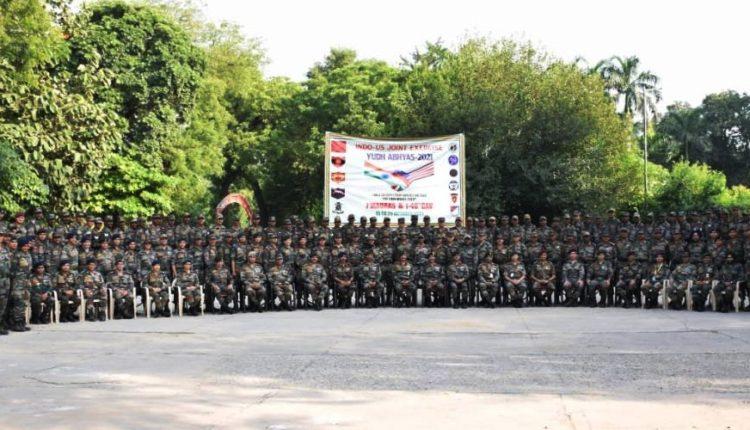 India-US Joint Military Training Exercise Ex Yudh Abhyas 2021