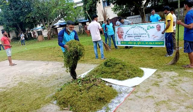 Odisha-Mo Parivar organizes cleanliness drive in Bhubaneswar