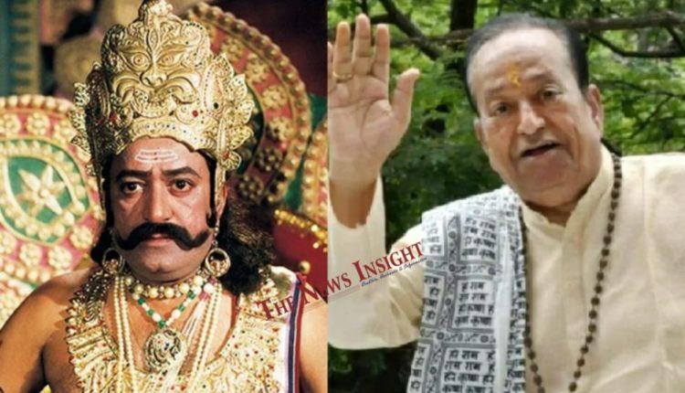 Ramayan's Ravan Arvind Trivedi passes away